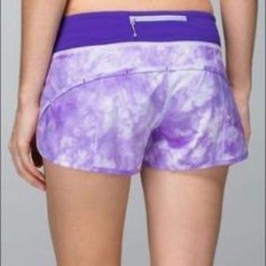 Lululemon Run: Speed Short *4 Way Stretch Shorts